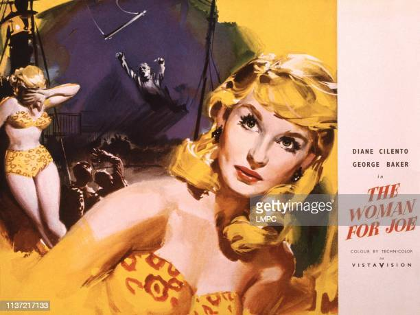 The Woman For Joe US lobbycard Diane Cilento 1955