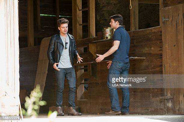 ANIMALS 'The Woman Problem' Episode 103 Pictured Sebastian Stan as Thomas 'TJ' Hammond James wolk as Douglas Hammond