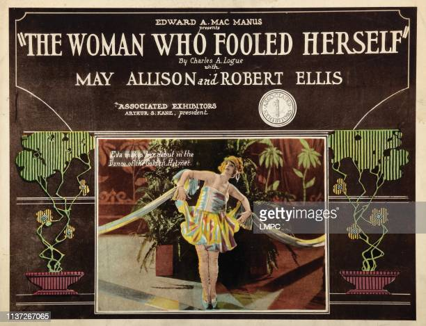 The Woman Who Fooled Herself lobbycard May Allison 1922
