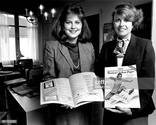 The women behind the Women's Yellow Pages L to R Brenda Exline Maureen Regan Credit The Denver Post