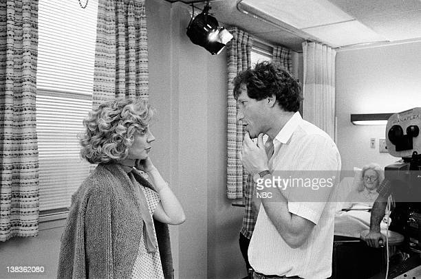 ST ELSEWHERE 'The Women' Episode 19 Pictured Blythe Danner as Paige Gerradeaux Bruce Paltrow