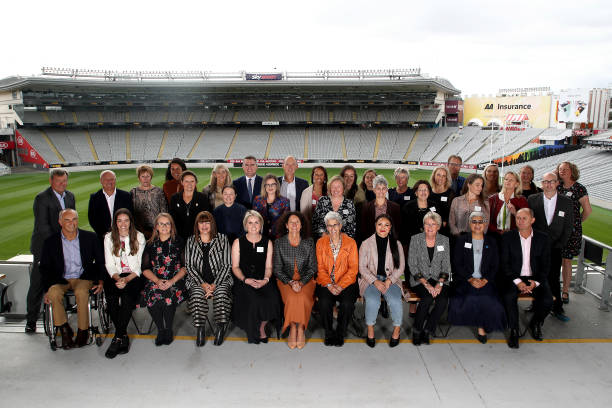 NZL: Prime Minister Jacinda Ardern Keynote At The Women in Sport Aotearoa Captains Lunch 2021