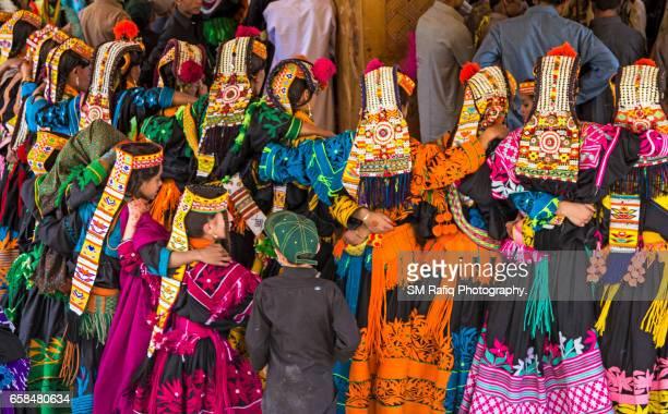 The women of Kalash Valley are celebrating Chilam Joshi Festival