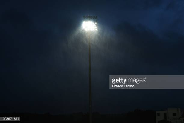 The Women's Algarve Cup Tournament Final match between Sweden and Netherlands at Municipal Belavista was canceled due to bad weather on March 7 2018...