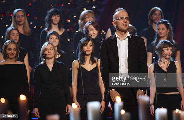 The women's choir Scala peforms at the final dress rehearsal to the 2007 Jose Carreras Gala December 13 2007 in Leipzig Germany The Jose Carreras...