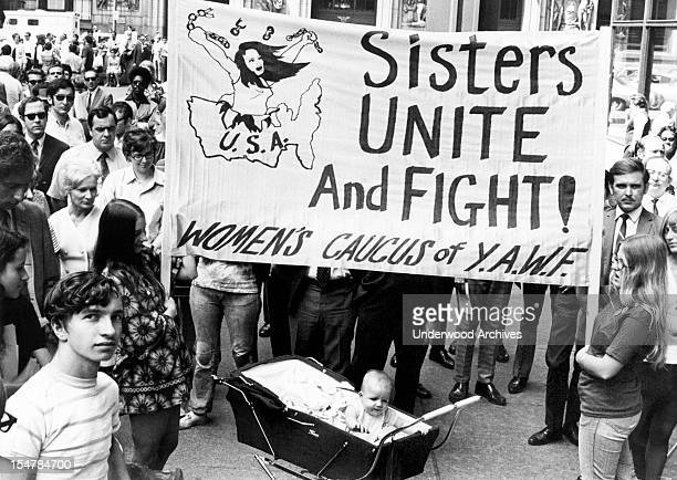 The Women's Liberation movement mounted its strongest campaign for equal rights to date with over 4 000 persons turning out for the 50th anniversary...