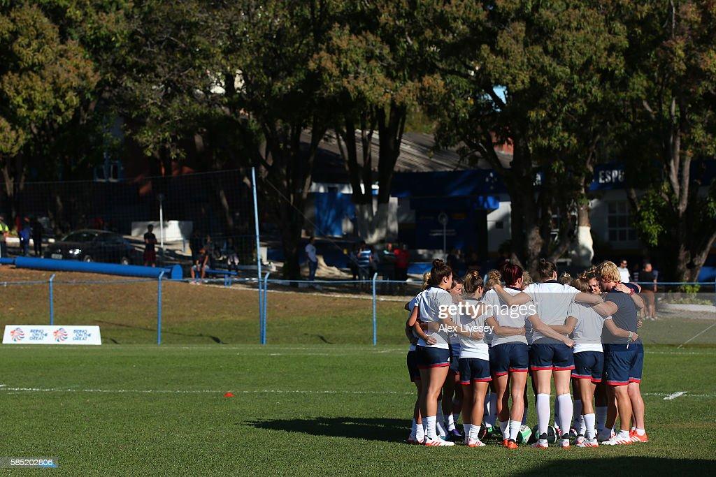 Team GB - Rugby 7's Training : News Photo
