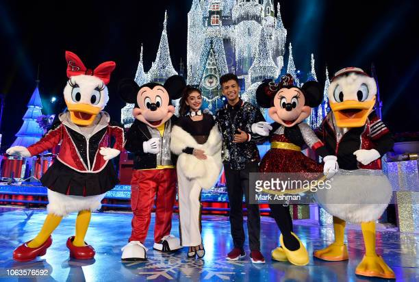"""The Wonderful World of Disney: Magical Holiday Celebration"""" - Join singer, songwriter and """"Dancing with the Stars: Juniors"""" host Jordan Fisher and..."""