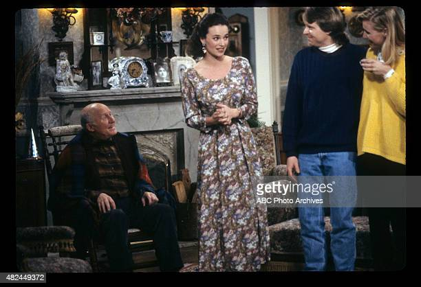 "The Woodchuck, the Beaver and the Fox: A Menage a Trois"" - Airdate: February 8, 1992. L-R: HANSFORD ROWE;CLARE CAREY;KEN BRYAN;VIBBE HAUGAARD"