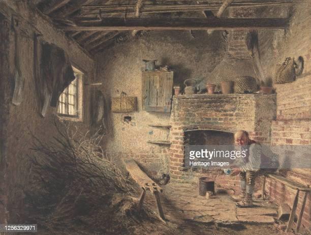 The Woodcutter's Breakfast , circa 1832-34 . Artist William Henry Hunt.
