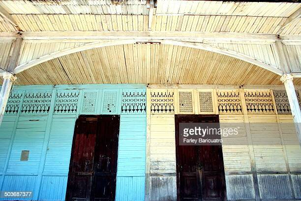 CONTENT] The wooden facade of the school building in Sta Fe Bantayan is at least 70 years old already It features hardwood and rare handcut lattices