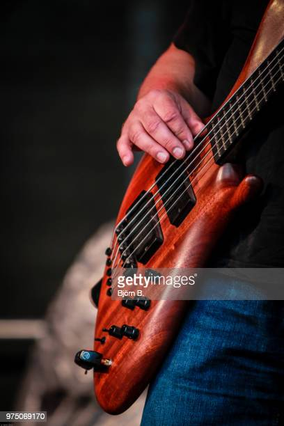 the wooden guitar - modern rock stock pictures, royalty-free photos & images
