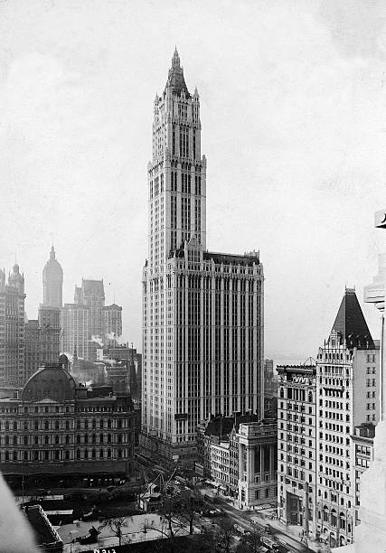 The Woolworth Building On Broadway