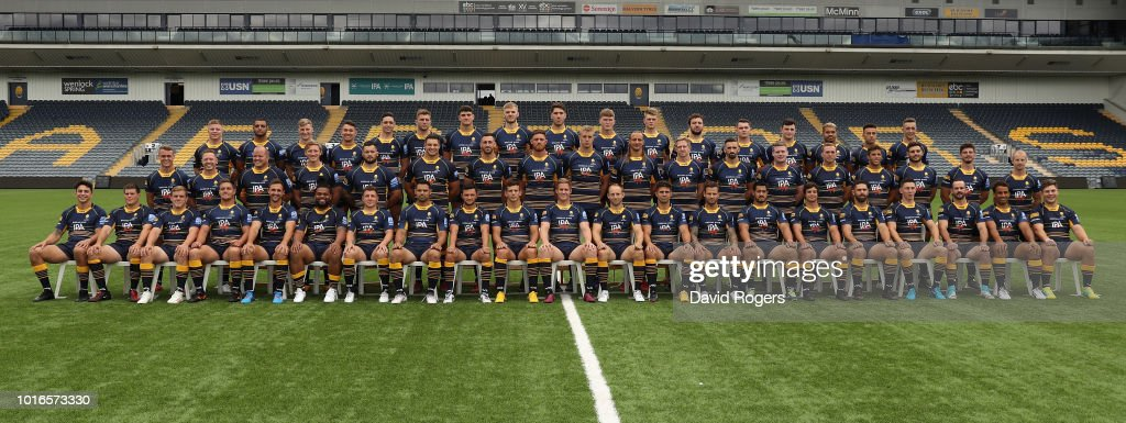 Worcester Warriors Squad Photo Call