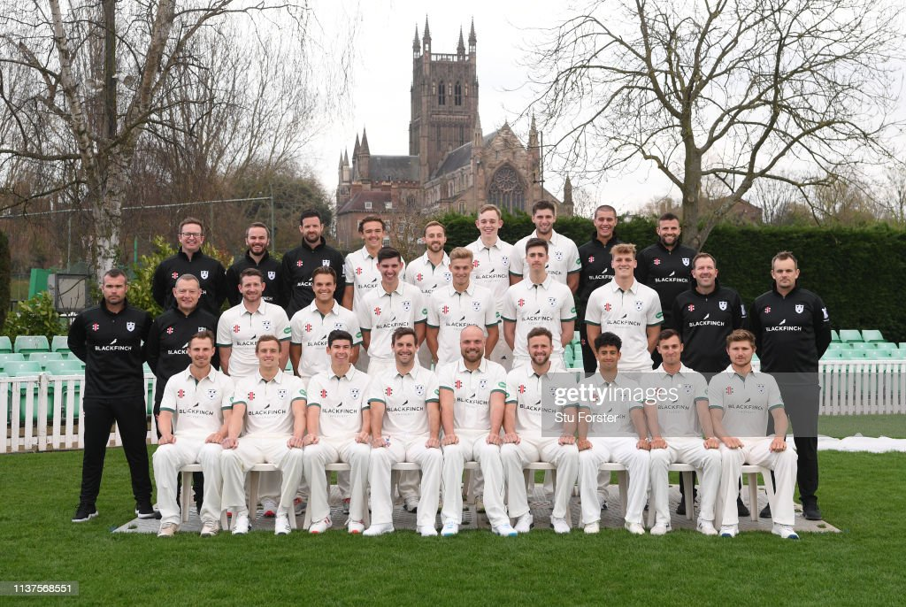 GBR: Worcestershire CCC Photocall