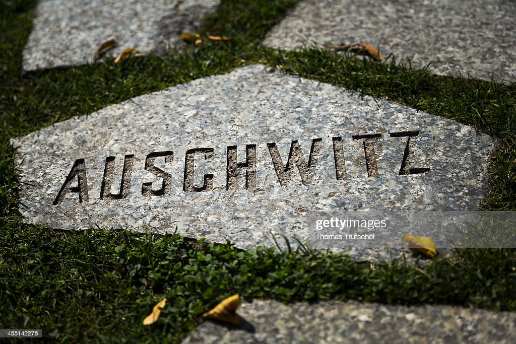 Memorial To The Sinti And Roma Victims Of National Socialism : News Photo