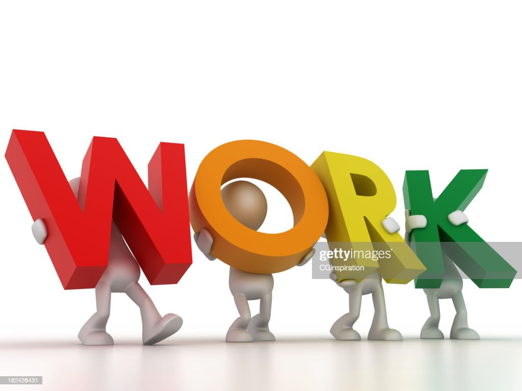 the work word stock photo getty images