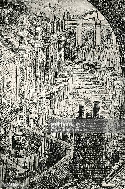 The Working Class Districts of London England 19th century