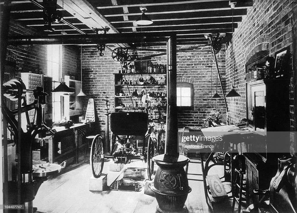 Henry Ford\'S Workshop In 1890 Pictures | Getty Images