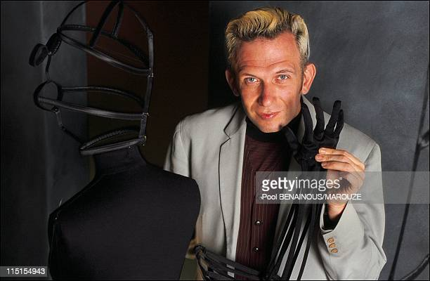 The world according to its creators of the museum of custum and fashion in Paris France on June 06 1991 Jean Paul Gaultier