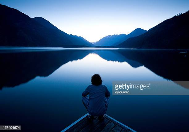 the world at rest - contemplation stock pictures, royalty-free photos & images