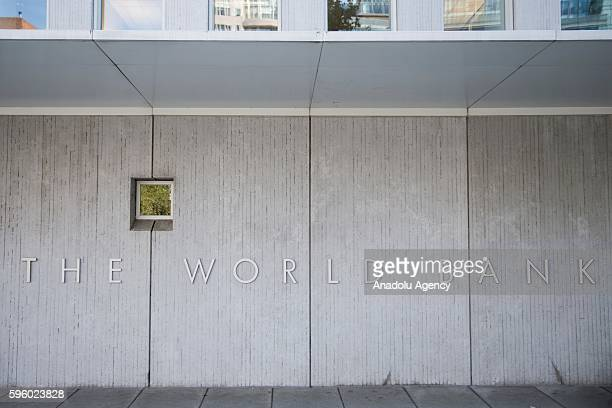 The World Bank headquarters in Washington USA on August 26 2016
