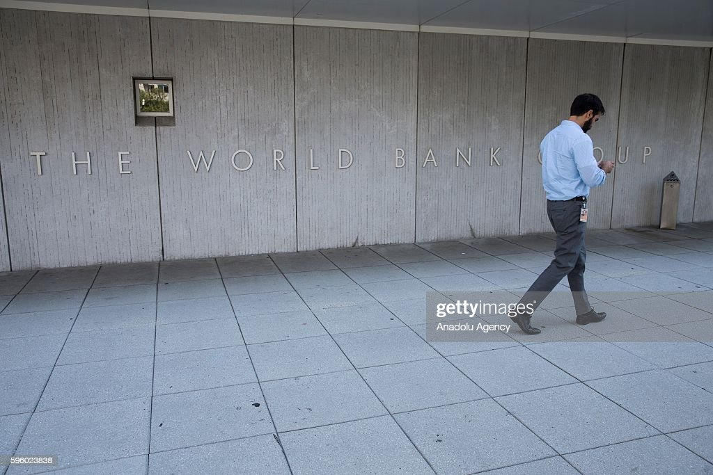 The World Bank headquarters in Washington, USA on August 26, 2016.