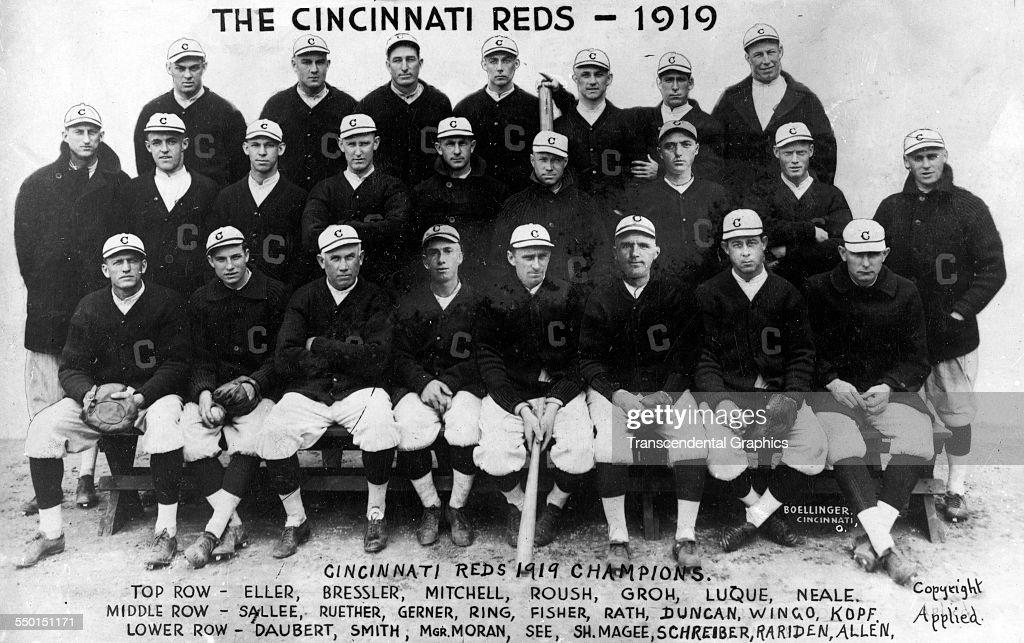 1919 Cincinnati Reds : News Photo