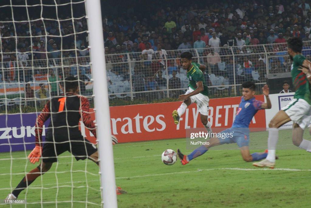 India v Bangladesh - World Cup 2022 Qualifying Match : News Photo
