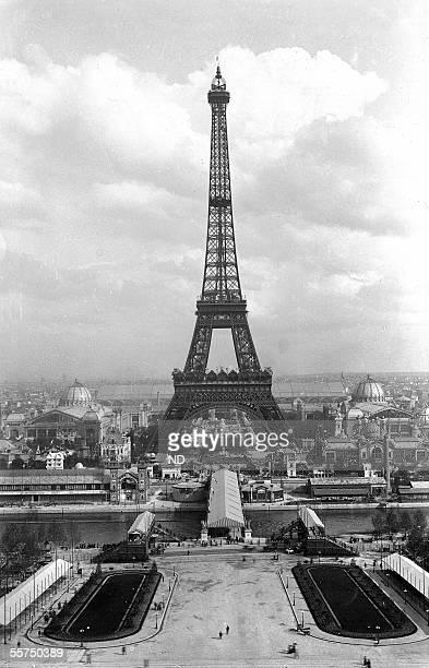 The World fair of 1889 Paris The Eiffel tower