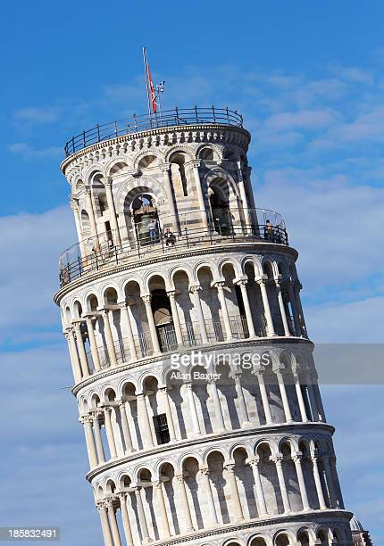 The world famous leaning tower of Pisa