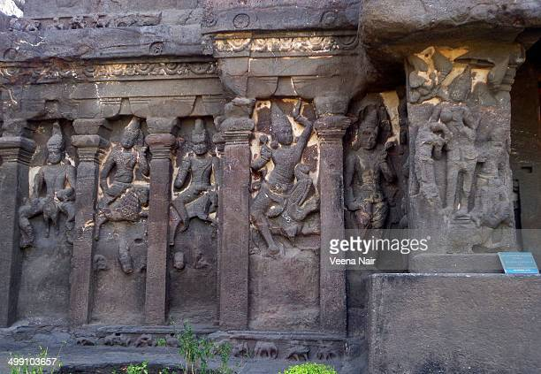 CONTENT] The world famous single monolithic excavation in the worldEllora cavesMaharashtraIndia