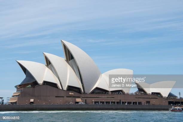 The world heritage site of the Opera House on December 29 2017 in Sydney Australia Listed on the UNESCO website as a heritage site the magnificent...