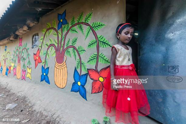 The world of painters paintings this is a pot chitra fair which is held in Paschim Medinipur West Bengal India It is small village in a rural place...