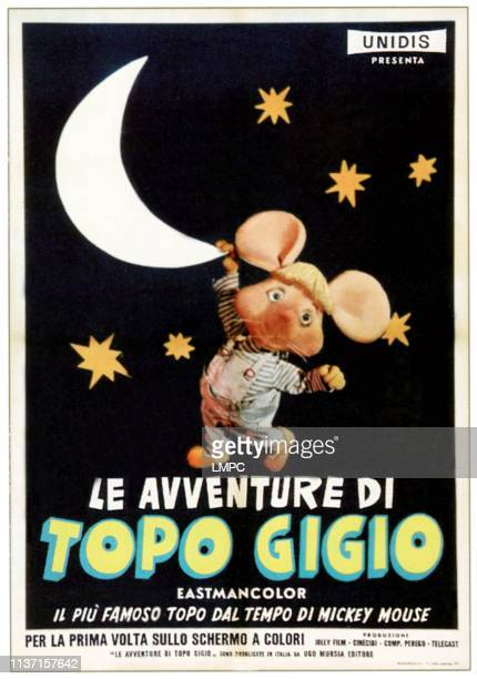 The World Of Topo Gigio poster Topo Gigio 1961