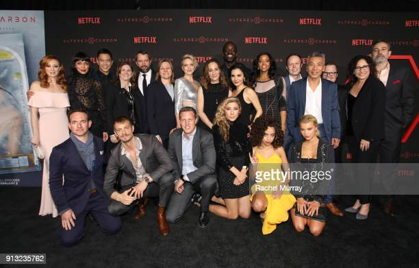 The World Premiere of the Netflix Original Series 'Altered Carbon' on February 1 2018 in Los Angeles California