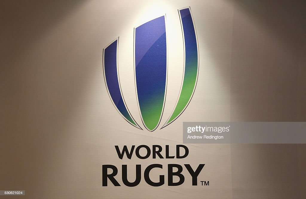Media conference to introduce new World Rugby Chairman and Vice-Chairman : News Photo