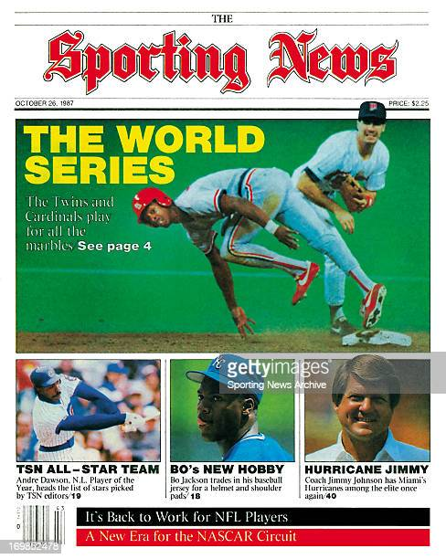 Minnesota Twins and St Louis Cardinals World Series October 26 1987 The World Series The Twins and Cardinals play for all of the marbles