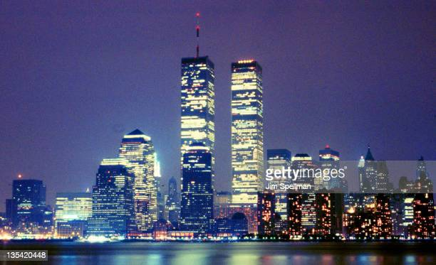 The World Trade Center in 1988 File Photo during World Trade Center File Photos at Manhattan in New York City New York
