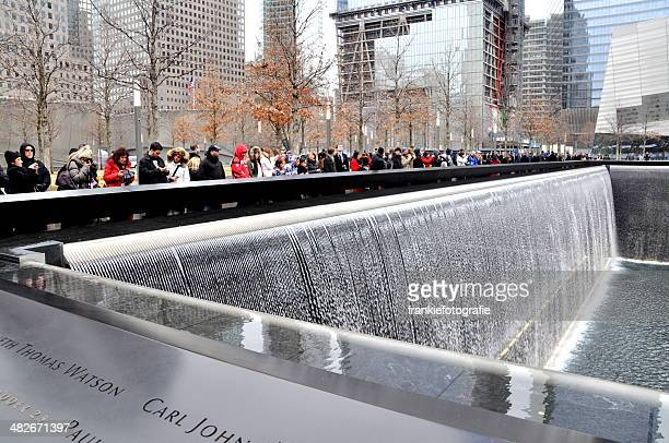 the world trade centre memorial site 1 - world trade center memorial stock pictures, royalty-free photos & images