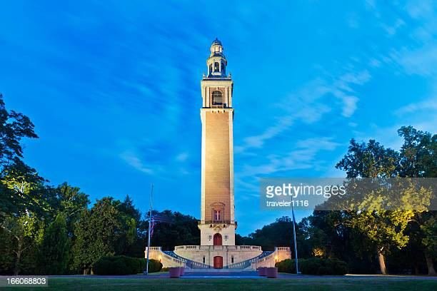 the world war i memorial carillon in richmond, virginia - richmond virginia stock pictures, royalty-free photos & images