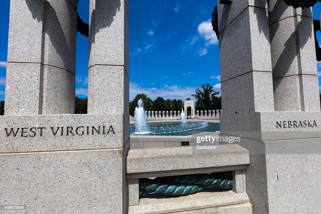 the World War II Memorial : Stock Photo