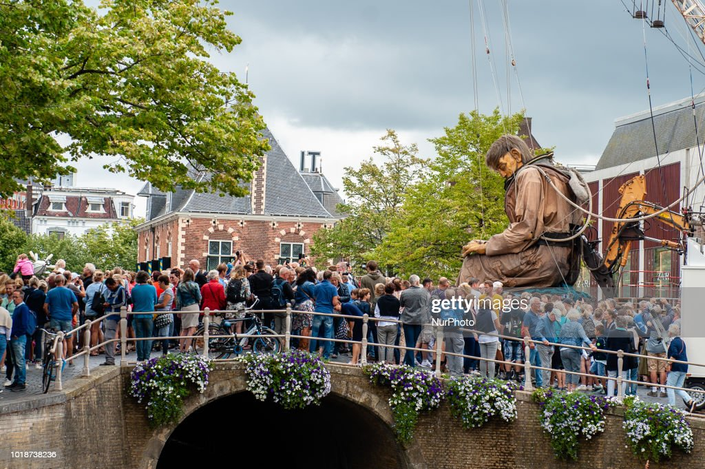 The Giants of Royal de Luxe Walked Around Leeuwarden