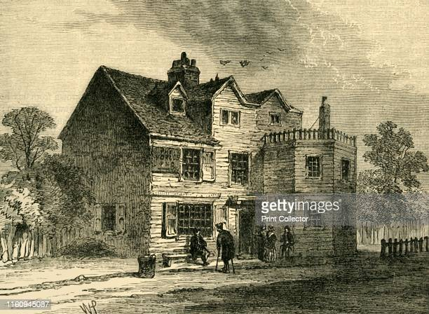 """The """"World's End"""", in 1790', . The World's End Tavern, dates back to at least the 17th century, a noted tea-garden at considerable distance from..."""