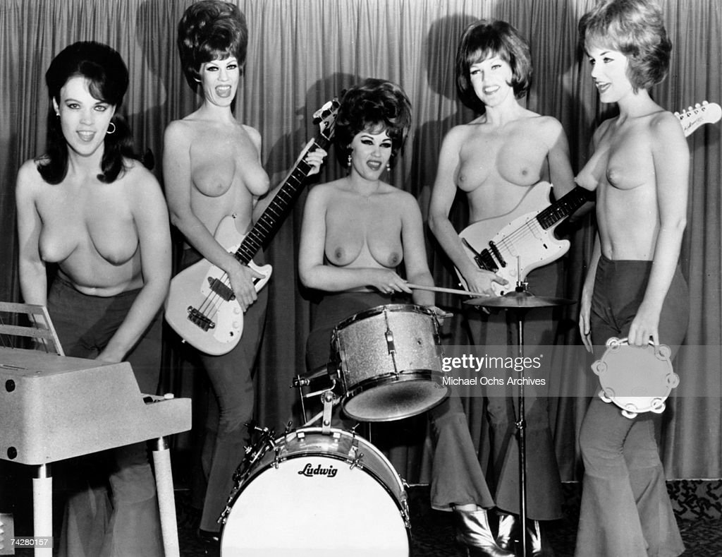 all girl topless band