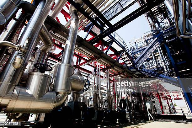 The world's first industrialscale hydrogen plant owned by Enel SpA operates in Fusina near Venice Italy on Monday July 12 2010 Enel over the next...