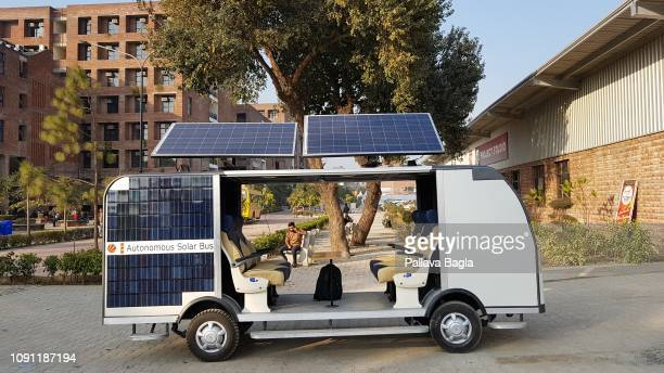 The worlds first solar powered autonomous or driver less bus has been developed by the students and faculty of the Lovely Professional University at...