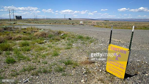 The world's largest environmental cleanup project on the Hanford Nuclear Reservation June 30 2005 near Richland Washington The 586squaremile site...