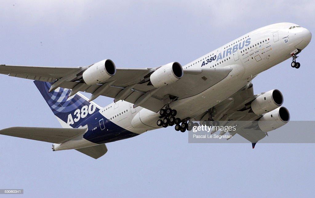 Paris Air Show At Le Bourget : News Photo