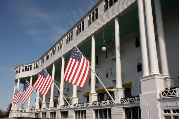 The World S Longest Porch At Grand Hotel